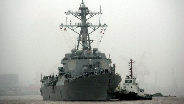 Tàu khu trục tên lửa USS Lassen - Sputnik Việt Nam