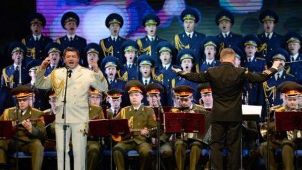 Đoàn ca múa nhạc hàn lâm mang tên A.V. Alexandrov của Quân đội Nga - Sputnik Việt Nam