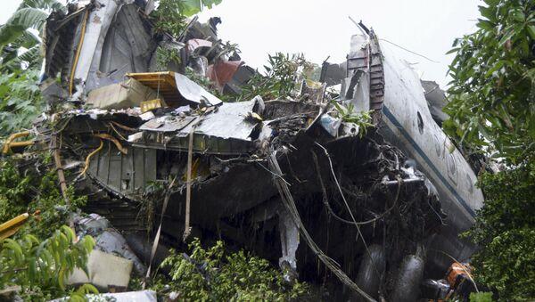 Mảnh vỡ của phi cơ vận tải An-2 ở Nam Sudan - Sputnik Việt Nam