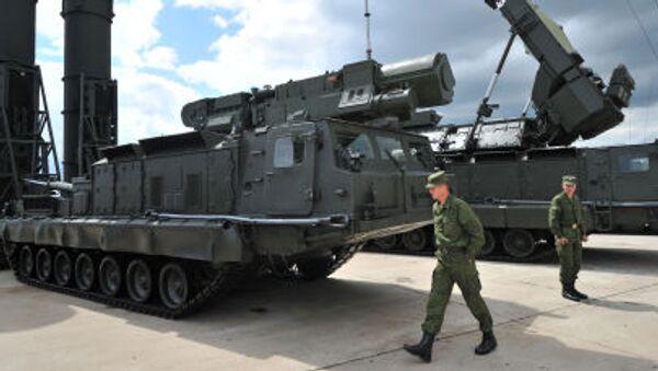 Hệ thống tên lửa phòng không tầm xa S-300V và S-300VM tại Zhukovsky - Sputnik Việt Nam