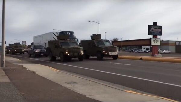 Ở Mỹ, một xe bọc thép đâm vào xe tải chở đầu đạn hạt nhân - Sputnik Việt Nam