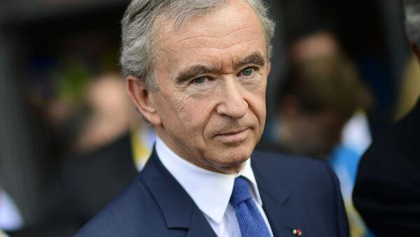 Bernard Arnault, Chủ tịch Tập đoàn Louis Vuitton Moët Hennessy (LVMH). - Sputnik Việt Nam