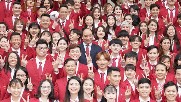 Thủ tướng gặp mặt VĐV, HLV đạt thành tích cao tại SEA Games 30 - Sputnik Việt Nam