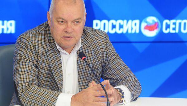 Tổng Giám đốc Hãng truyền thông quốc tế «Rossiya Segodnya» (Sputnik) Dmitry Kiselev - Sputnik Việt Nam