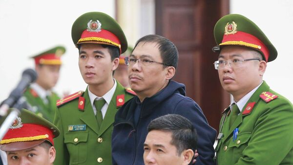 Bị cáo Phạm Nhật Vũ (sinh năm 1973, nguyên Chủ tịch Hội đồng quản trị AVG) . - Sputnik Việt Nam