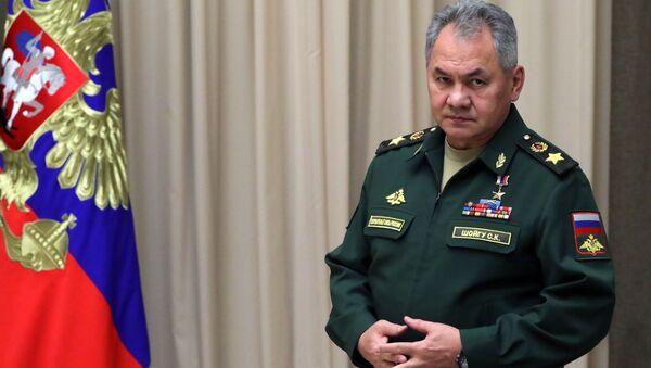 Bộ trưởng Bộ Quốc phòng Sergei Shoigu. - Sputnik Việt Nam