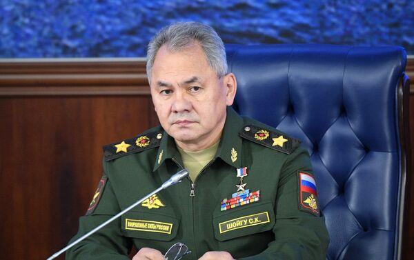 Bộ trưởng Bộ Quốc phòng Nga Sergei Shoigu. - Sputnik Việt Nam