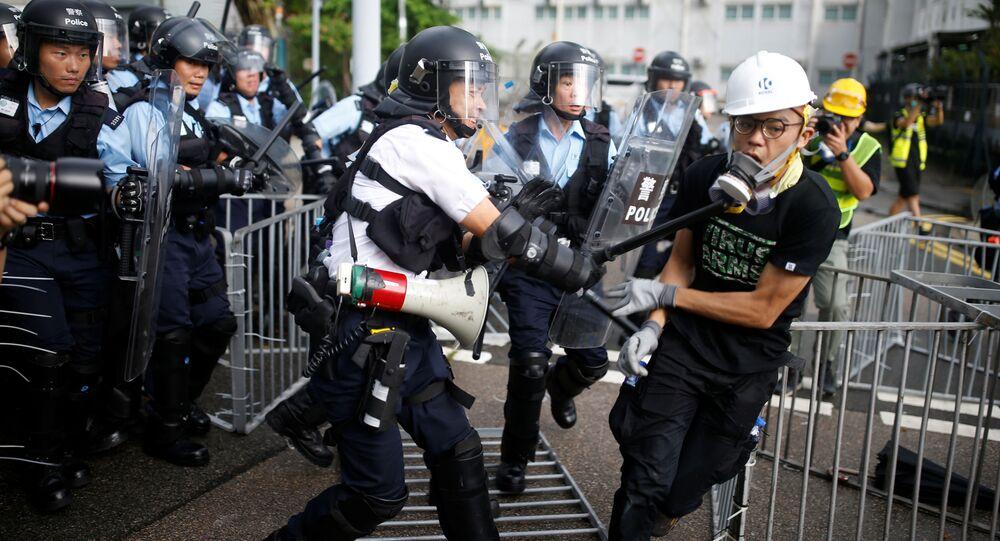 cuộc biểu tình ở Hồng Kông