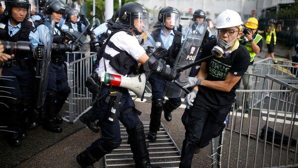 cuộc biểu tình ở Hồng Kông - Sputnik Việt Nam