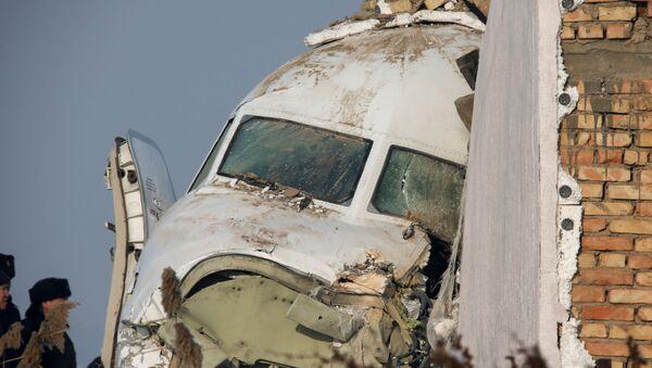 Máy bay chở khách Fokker-100 của hãng hàng không Bek Air rơi ở Kazakhstan - Sputnik Việt Nam