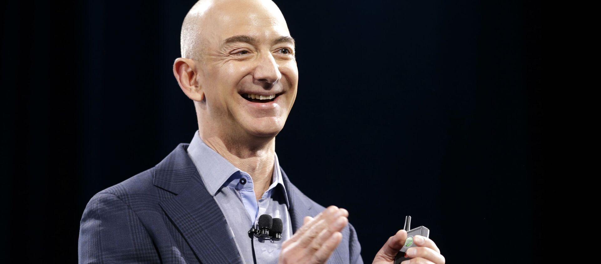 Jeff Bezos. - Sputnik Việt Nam, 1920, 10.02.2021