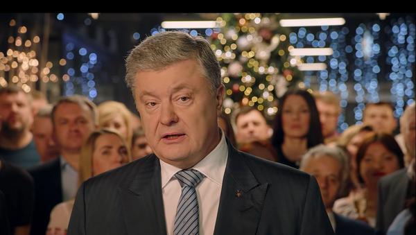 Truyền hình Ukraina phát lời chúc mừng Năm Mới của Poroshenko - Sputnik Việt Nam