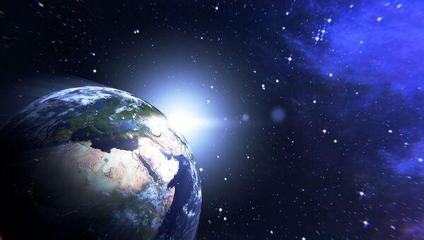 Hành tinh trái đất trong không gian - Sputnik Việt Nam