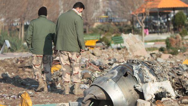 Vụ tai nạn máy bay Boeing 737-800. - Sputnik Việt Nam