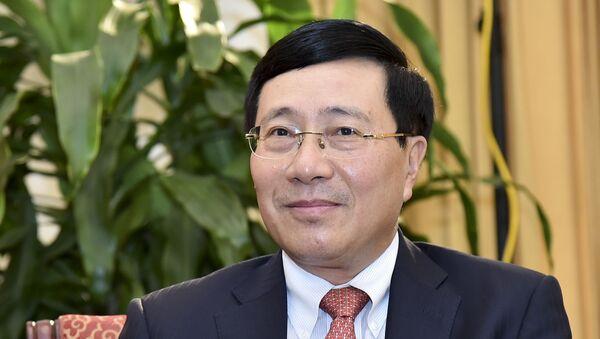 Phó Thủ tướng, Bộ trưởng Bộ Ngoại giao Phạm Bình Minh. - Sputnik Việt Nam