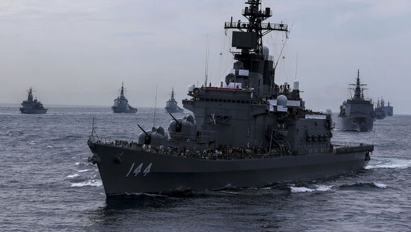 Tàu khu trục Nhật Bản Kurama - Sputnik Việt Nam