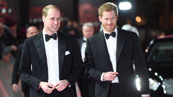 Hoàng tử William và Hoàng tử Harry  - Sputnik Việt Nam