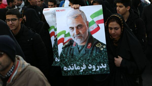 Lễ rước dâu ở Tehran nhân dịp chia tay Tướng Soleimani và các nạn nhân khác của cuộc tấn công của Hoa Kỳ tại Iraq - Sputnik Việt Nam
