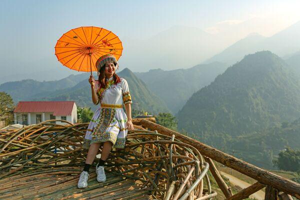 Cô gái tỉnh Lào Cai, Việt Nam - Sputnik Việt Nam
