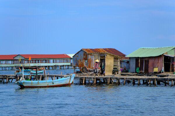 Làng chài trên đảo Phú Quốc, Việt Nam - Sputnik Việt Nam