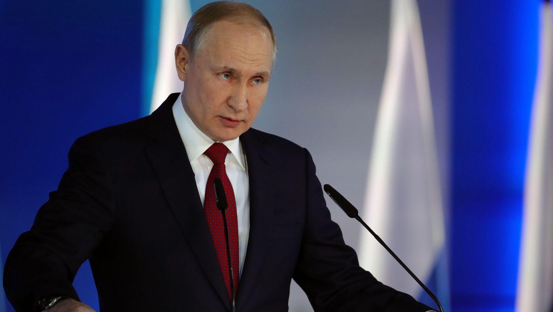 Tổng thống Nga Vladimir Putin. - Sputnik Việt Nam, 1920, 14.04.2021