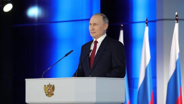 Tổng thống Vladimir Putin. - Sputnik Việt Nam