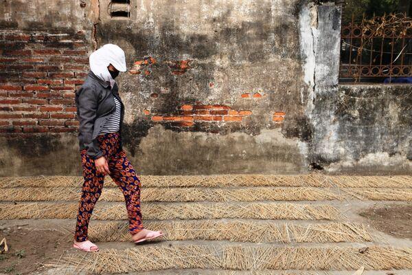 Nữ công nhân kiểm tra nguyên liệu - Sputnik Việt Nam