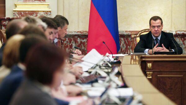 Dmitry Medvedev và nội các LB Nga - Sputnik Việt Nam