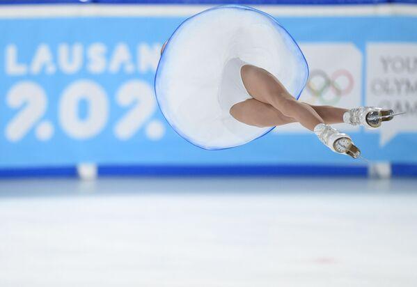 Vận động viên trượt băng nghệ thuật Apollinaria Panfilova tại Thế vận hội Mùa đông dành cho thanh niên 2020 - Sputnik Việt Nam