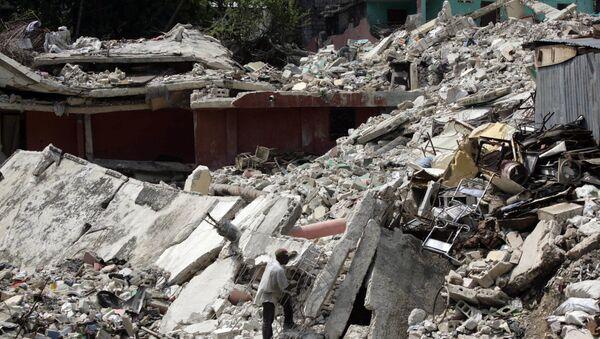10 năm sau trận động đất ở Haiti. - Sputnik Việt Nam