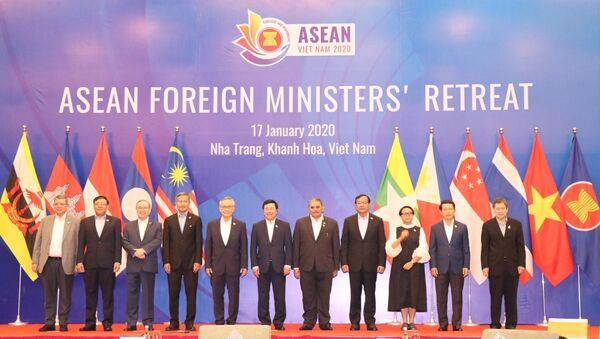 Hội nghị hẹp Bộ trưởng Ngoại giao ASEAN (AMM Retreat)  - Sputnik Việt Nam