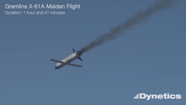 Lộ video ghi chuyến bay thử nghiệm UAV «Gremlin» của Không lực Hoa Kỳ - Sputnik Việt Nam