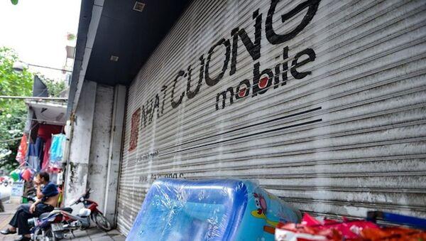 Nhiều cửa hàng thuộc hệ thống Nhật Cường đóng cửa. - Sputnik Việt Nam