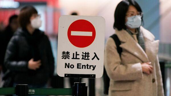 Hành khách tại sân bay Thượng Hải - Sputnik Việt Nam