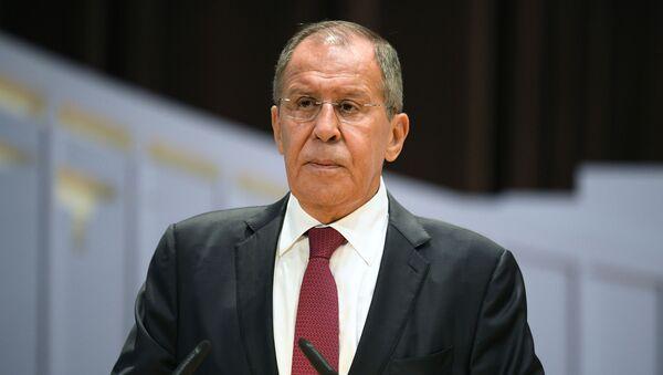 Bộ trưởng Bộ Ngoại giao Sergei Lavrov - Sputnik Việt Nam