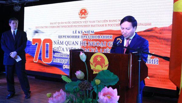 Đại sứ Việt Nam tại LB Nga Ngô Đức Mạnh - Sputnik Việt Nam