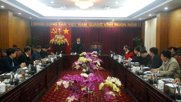 Đoàn công tác của Bộ NN và PTNT làm việc với lãnh đạo tỉnh và các sở, ban, ngành của tỉnh Bắc Kạn. - Sputnik Việt Nam
