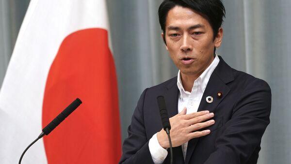 Bộ trưởng Sinh thái học Nhật Bản Shinjiro Koizumi. - Sputnik Việt Nam