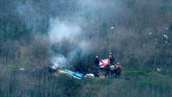 Tai nạn máy bay trực thăng của Kobe Bryant. - Sputnik Việt Nam
