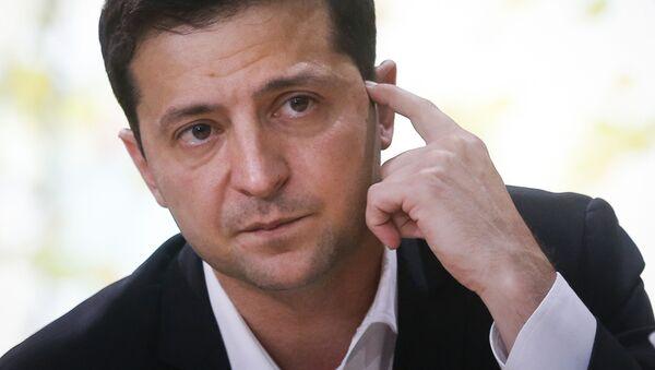 Tổng thống Ukraina Vladimir Zelensky - Sputnik Việt Nam