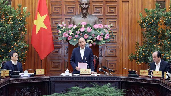 Thủ tướng Nguyễn Xuân Phúc chủ trì cuộc họp - Sputnik Việt Nam