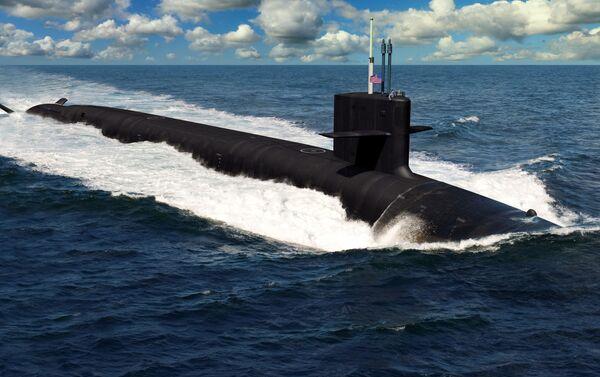 Tàu ngầm loại Columbia - Sputnik Việt Nam