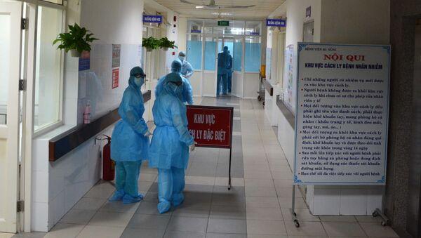 Khu vực cách ly được phân thành nhiều lớp ngăn chặn mầm bệnh lan nhiễm - Sputnik Việt Nam