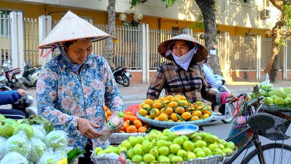 Cuộc sống thường nhật trên những con phố Hà Nội - Sputnik Việt Nam