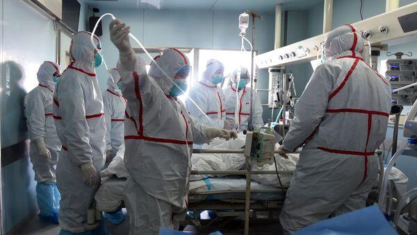 Bệnh viện tại Vũ Hán - Sputnik Việt Nam