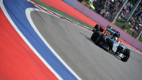Lewis Hamilton, tay đua của Đội Mercedes  - Sputnik Việt Nam
