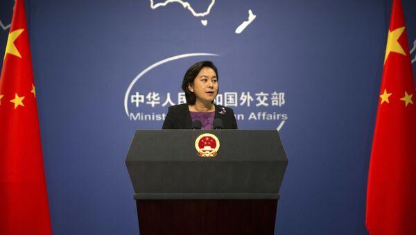 Người phát ngôn Bộ Ngoại giao Trung Quốc Hoa Xuân Oánh - Sputnik Việt Nam