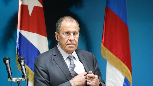 Ngoại trưởng Nga Sergei Lavrov tại Cuba  - Sputnik Việt Nam