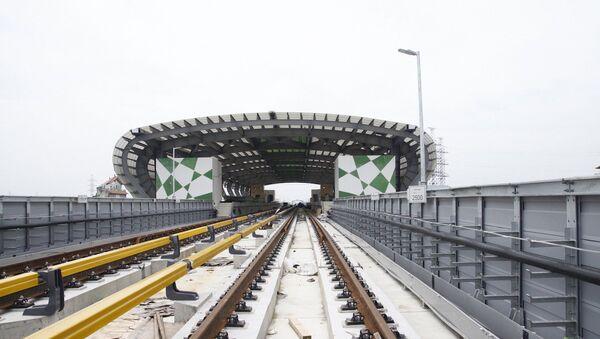 Đường sắt Cát Linh - Hà Đông còn 1% khối lượng công việc chưa hoàn thành. - Sputnik Việt Nam