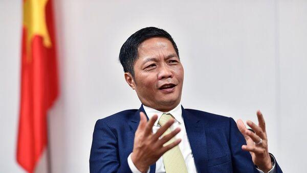 Bộ trưởng Công Thương Trần Tuấn Anh.  - Sputnik Việt Nam